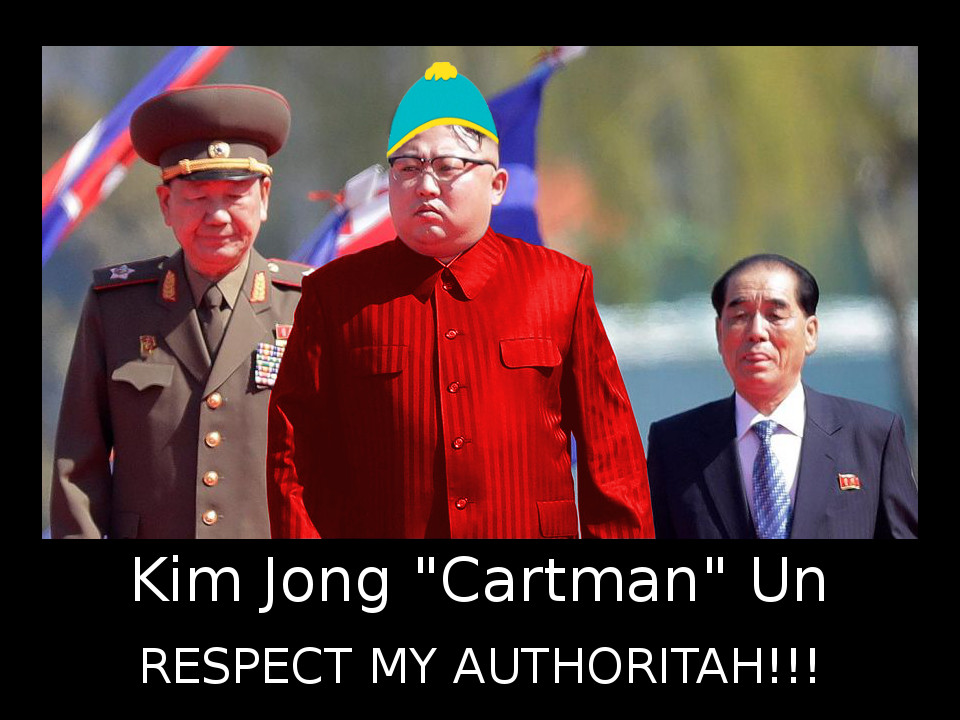 Kim Jong Cartman, Respect My Authoritah